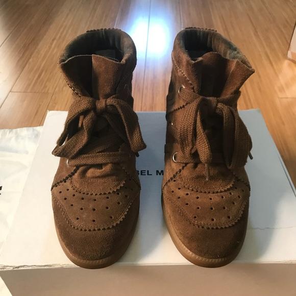 "f6c460edd3 Isabel Marant Shoes - Isabel Marant ""bobby"" wedge sneakers"